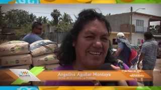 Reciben vecinos de la colonia La Floresta el programa Viernes en Movimiento