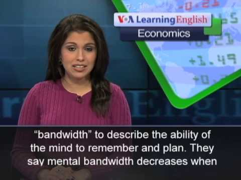 How Stress Affects Mental Bandwidth