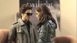 Twilight Movie Edward Cullen & Bella Swan Two Pack NECA