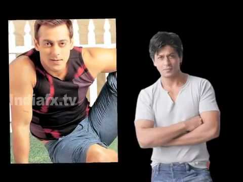 Shahrukh Khan and Salman Khan together