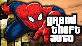 GTA 4: Spiderman in GTA! – (Web Swinging Powers Funny Moments w/ Mods)