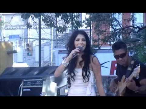 """Victoria Acosta performing Gloria Estefan's """"Mi Tierra"""""""