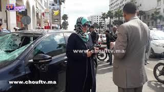 لقطة اليوم من شوارع البيضاء..Constateur ديال حادثة سير مْــرا بصفة عميد ممتاز | بــووز