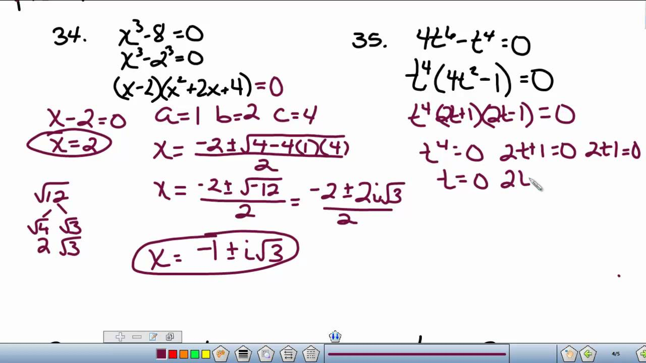 Solving Equations By Factoring Trinomial Pictures to Pin on – Solving Polynomial Equations Worksheet