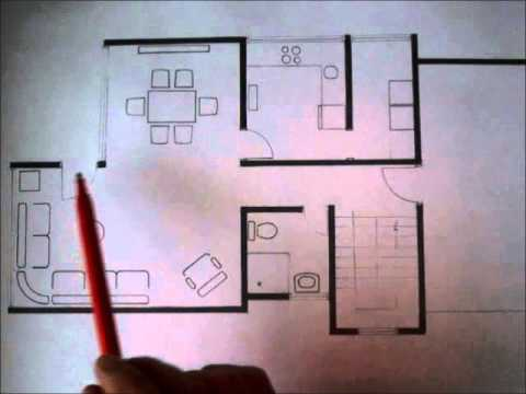 C mo dise ar una casa de dos pisos youtube for Programa para distribuir una casa