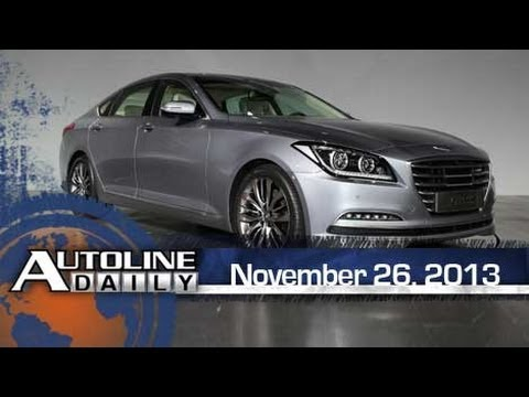 All-New 2015 Hyundai Genesis - Autoline Daily 1266
