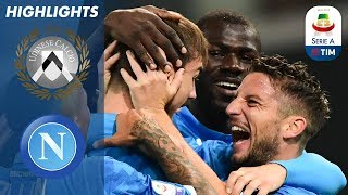 Udinese 0-3 Napoli | Napoli Close Some Ground At Top With Big Win at Udinese | Serie A