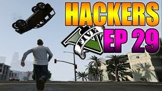 Hackers En GTA V Online #29 Super Coche, Fuerza Hulk