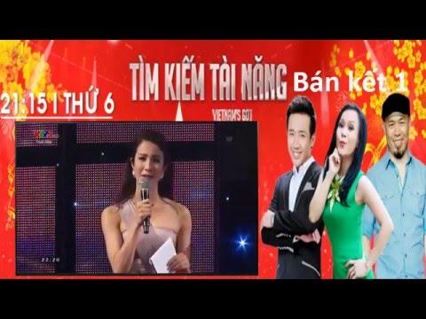 Vietnam's Got Talent 2016 Tập 9   Bán kết 1  ngày 11 3 2016