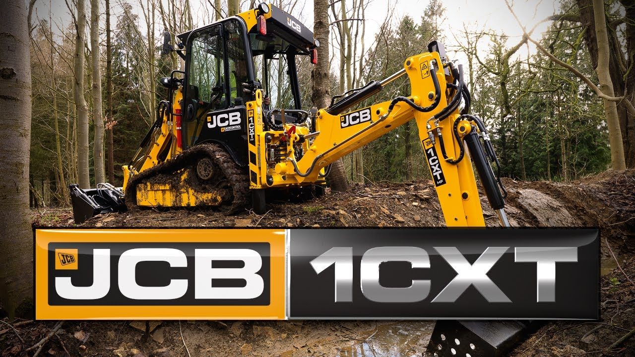 Jcb 1cxt The World S Smallest Backhoe Now With Tracks