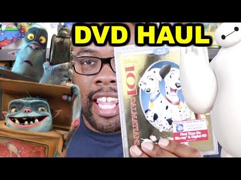 BOXTROLLS UNBOXING + BIG HERO 6 (Cartoon & 80's DVD Haul) : Black Nerd