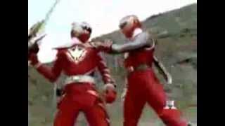 Power Rangers Dino Thunder E Tempestade Ninja Clip