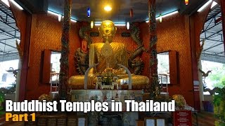 Travel Videos of Buddhist Temples in Thailand