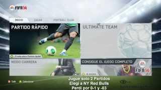 FIFA 14 DEMO PC MENU Configurar Joystick Fifa 14 Al