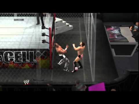 WWE 2K14 - Daniel Bryan vs Shawn Michaels (Hell in a Cell Match - Dream Match)