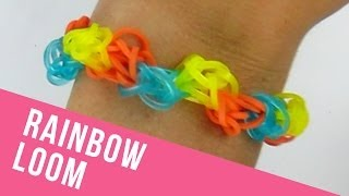 """How To Make A """"Back And Forth"""" Rainbow Loom Bracelet"""