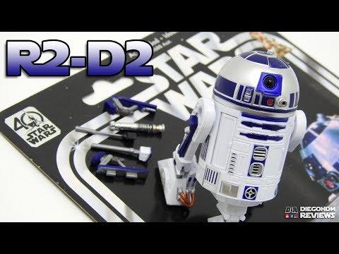 Hasbro R2-D2 Black Series Star Wars 40th Anniversary Review BR / DiegoHDM