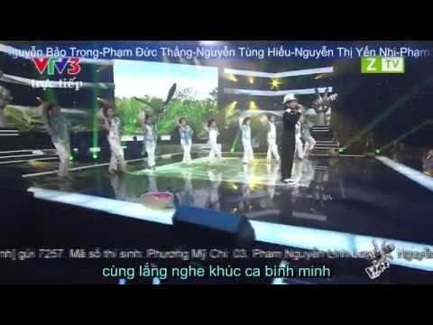 Áo Mới Cà Mau Sub-Hát cùng Phương Mỹ Chi-6/9/2013-Giọng Hát Việt Nhí-The Voice Kids-Ao Moi Ca Mau