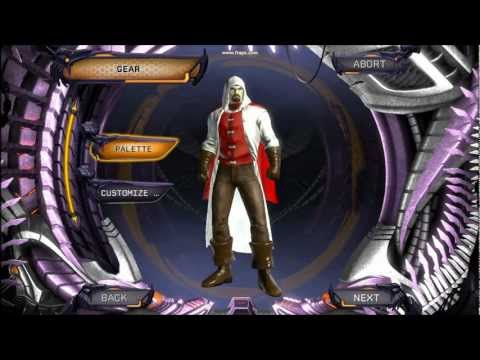 DC Universe Online Ezio character creation(HD)
