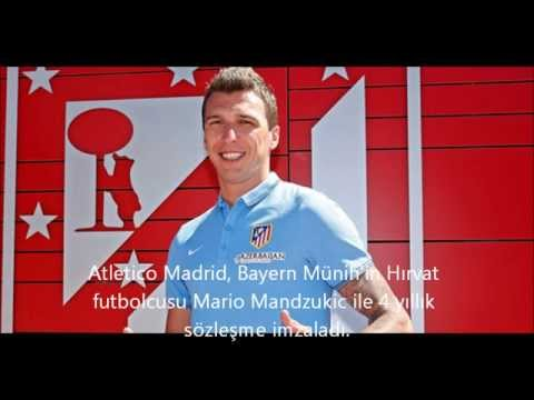 Mandzukic Atletico Madrid'de - Atletico signs Mario Mandzukic