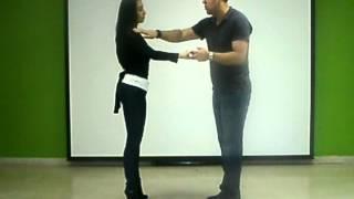 Aprende a bailar salsa. Dame 5 . Primera parte