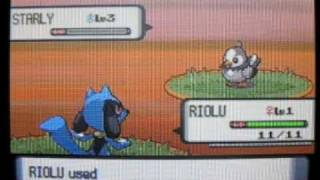 pokemon brick bronze how to get riolu