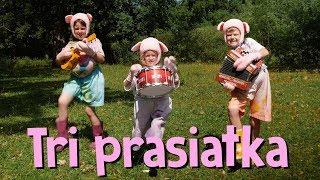 Tri Prasátka - Smejko a Tanculienka