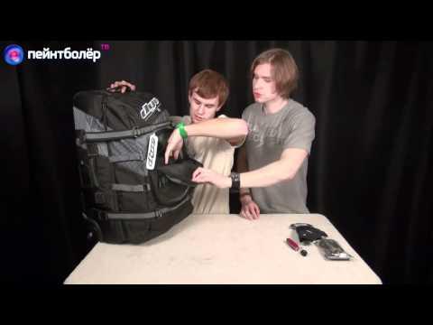 ПейнтболЁр ТВ. Обзор сумок Empire Bag Transit Breed и Dye Explorer