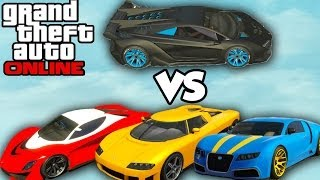 "GTA 5 Online ""PEGASSI ZENTORNO"" BEST CAR? (Zentorno Vs"