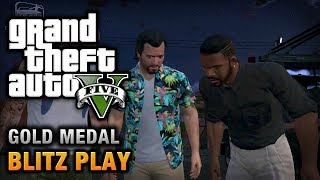 GTA 5 Mission #39 Blitz Play [100% Gold Medal