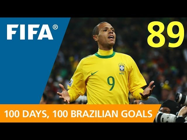 89 days to GO-AL! Luis Fabiano (South Africa 2010)