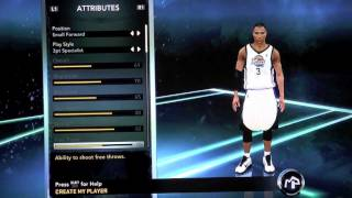 NBA 2K14 How To Create The Best My Player