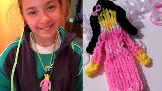 Princesa De Gomitas O LigasRainbow Loom Doll Charm