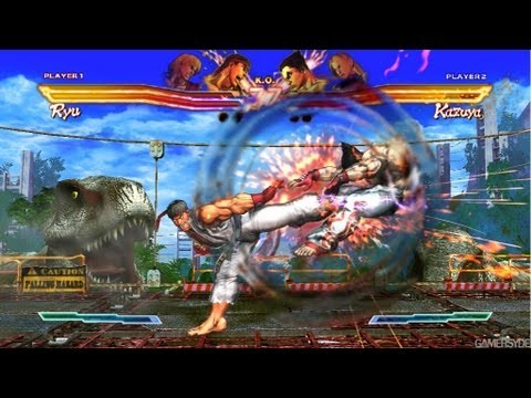 Street Fighter X Tekken '8 minutes of Gameplay' TRUE-HD QUALITY