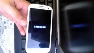 Dr.Celular Samsung Galaxy S3 I-9300 Hard Reset