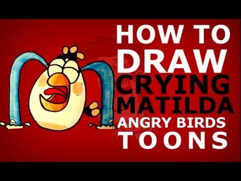 crying angry birds