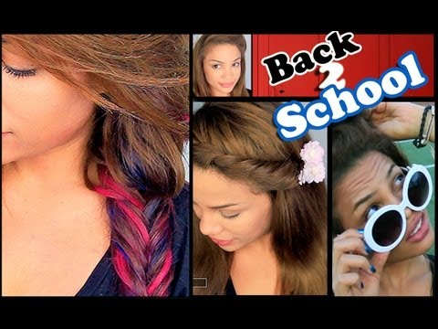 6 Easy Back to School Hairstyles!
