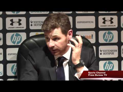 Andre Villas-Boas final press conference as Tottenham Manager