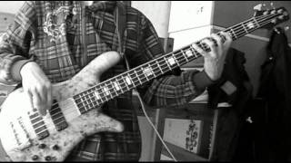 Eyes set to kill - Sketch in black and white (BASS cover) view on youtube.com tube online.