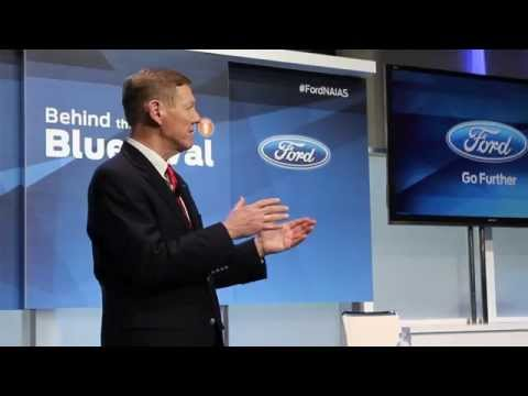 NAIAS Detroit 2014: Alan Mulally's Speech at Ford Behind the Blue Oval