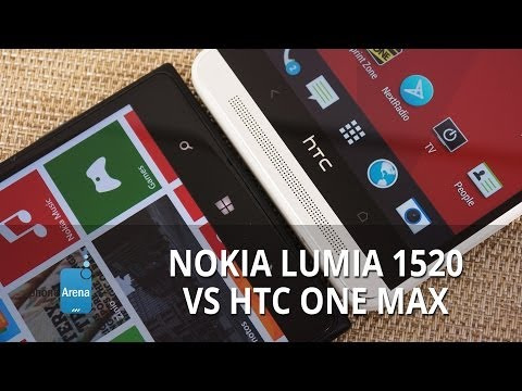 Nokia Lumia 1520 vs HTC One Max