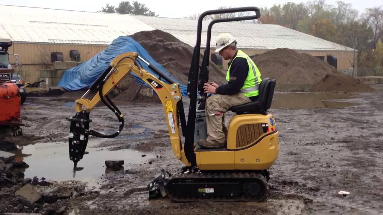 Masterrents Caterpillar 300 9 Mini Excavator With