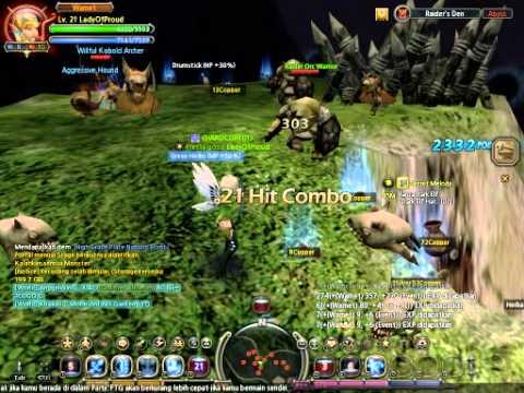 Dragon Nest Indonesia gemscool [sentinel server] Acrobat 1st Job Skill's