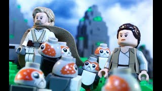 Ahch-To Porg Pandemonium - LEGO Star Wars - Should Have Joined Forces
