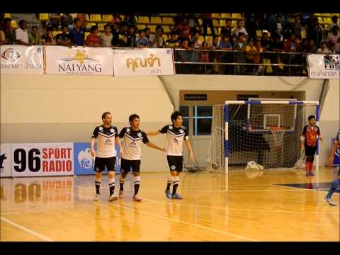 Thailand Futsal highlights: Phuket Utd 2-4 Chonburi Bluewave (2-2) - June 8, 2014