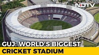 Work Begins On World's Biggest Cricket Stadium In Ahmedaba..