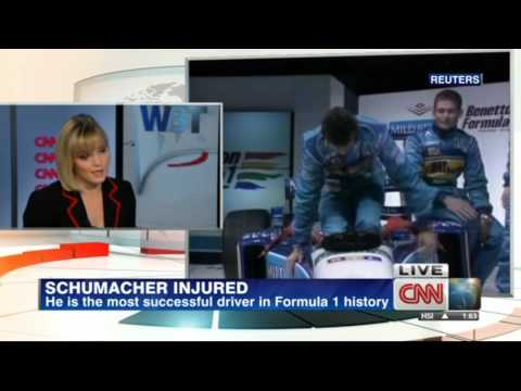 Michael Schumacher injured in skiing accident [CNN - 30/12/2013]