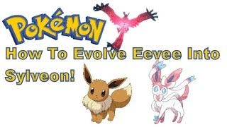 Pokemon X And Y 3DS XL How To Evolve Eevee Into