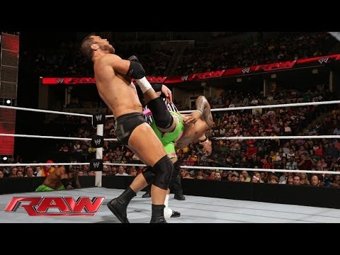 The Usos vs. Ryback and Curtis Axel: Raw, March 10, 2014