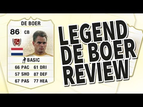 Fifa 14 Legend Frank De Boer 86 Player Review & In Game Stats